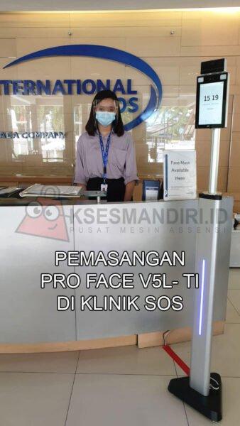 Pemasangan Pro Face V5L-TI Di Klinik SOS