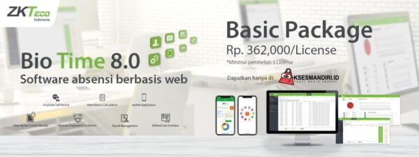 BioTime 8.0 Basic Package License