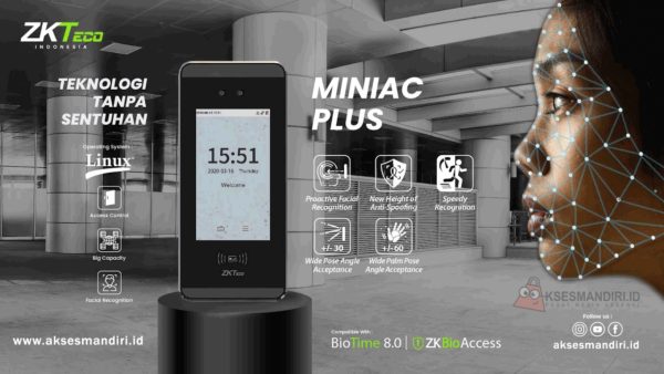 Mesin Absensi Mini AC Plus